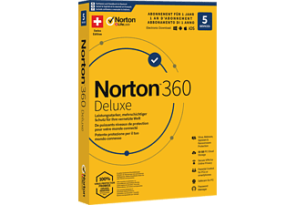 PC/Mac - Norton 360 Deluxe (5 dispositivi/1 anno/50 GB): Swiss Edition /Multilinguale