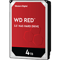 WD Red™ NAS-Festplatte Bulk, 4 TB, HDD, 3,5 Zoll, intern