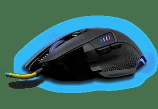 ISY IGM-3000 Gaming Maus, schwarz