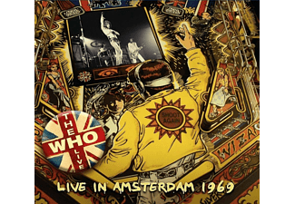 The Who - Live In Amsterdam 1969/Transmissions 1969  - (CD)