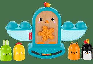 FISHER PRICE Stapel & Schaukel Vögelchen Stapelspielzeug Mehrfarbig