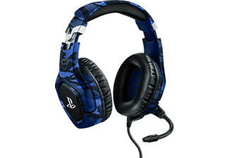 TRUST GXT 488 Forze PS4 Gaming Headset PlayStation Camo blauw