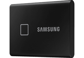 SAMSUNG Portable SSD T7 Touch Festplatte, 500 GB SSD, extern, Schwarz