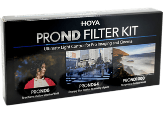 HOYA PROND Filter Kit 58mm - Kit filtro (Nero)
