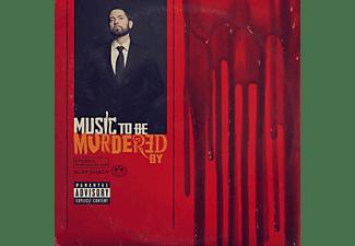 Eminem - MUSIC TO BE MURDERED BY (BLACK SMOKE)  - (Vinyl)