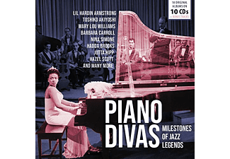 Differents artists - Milestones Of Jazz: Piano Divas CD