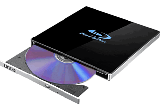 LITE-ON Blu-ray Brenner EB1, schwarz, extern
