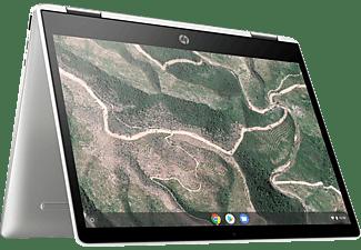 HP Chromebook x360 12b-ca0300ng, Chromebook mit 12 Zoll Display Touchscreen, Intel® Celeron® Prozessor, 4 GB RAM, 64 GB eMMC, Intel® UHD-Grafik 600, Weiß