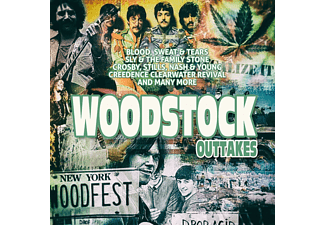 VARIOUS - Woodstock Outtakes  - (CD)