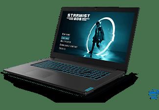 LENOVO IdeaPad L340, Gaming Notebook mit 17,3 Zoll Display, Core™ i7 Prozessor, 16 GB RAM, 512 GB SSD, GeForce GTX 1650, Schwarz