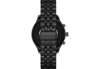 MICHAEL KORS Lexington 2 Smartwatch Edelstahl Edelstahl, 190 +/- 5 mm, Schwarz