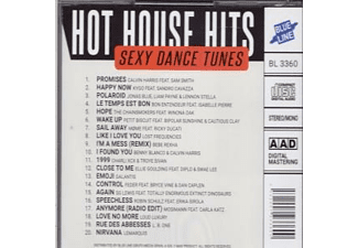 Diverse House - Hot House Hits  - (CD)