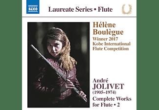 Boulègue,Hélène/Gimeno,Gustavo/+ - COMPLETE WORKS FOR FLUTE, VOL. 2  - (CD)