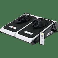 CHRISTOPEIT Vibro 1000 weiß Vibrationstrainer, Weiß/Schwarz