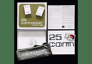 VARIOUS - 25 Compost Records (10x12'' Box-Set)  - (Vinyl)