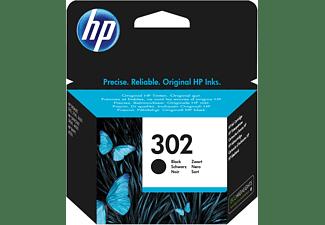 Cartucho de tinta - HP 302, Negro, F6U66AE