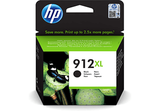 Cartucho de tinta - HP 912 XL, Negro, 3YL84AE