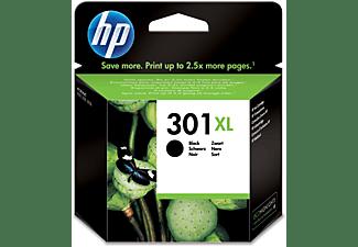 Cartucho de tinta - HP 301XL, Negro, CH563EE