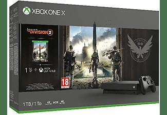 REACONDICIONADO Consola - Xbox One X, 1 TB + The Division 2