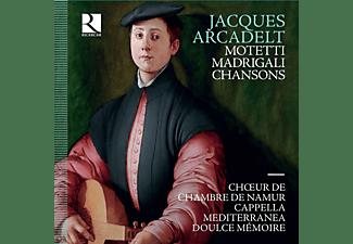 Choeur De Chambre De Namur, Cappella Mediterranea, Doulce Memoire - MADRIGALI - CHANSONS - MOTETTI  - (CD)