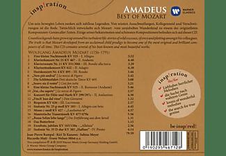 Riccardo Muti, Franz Welser-Möst, Kiri Te Kanawa, Meyer Sabine - Amadeus - Best Of Mozart  - (CD)