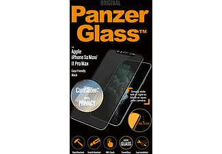 PANZERGLASS Black Case Friendly Privacy voor iPhone 11 Pro Max/Xs Max