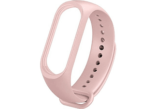 Correa - Xiaomi MYD4130TY, Para Mi Band 3, Mi Band 4, 247 mm, TPE, Impermeable, Rosa