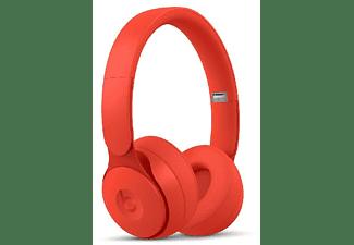 Auriculares inalámbricos - Beats Solo Pro, Cancelación ruido, Autonomía 40h, Chip Apple H1, Bluetooth, Rojo