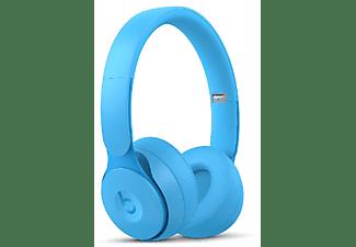 Auriculares inalámbricos - Beats Solo Pro, Cancelación ruido, Hasta 40h, Chip Apple H1, Bluetooth, Azul claro