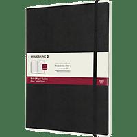 MOLESKINE XL, Version 01, Liniert Paper Tablet, Schwarz