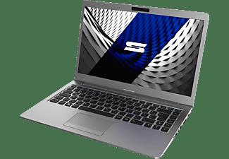 XMG SCHENKER SLIM 14 - L19kyh, Notebook mit 14 Zoll Display, Core™ i7 Prozessor, 16 GB RAM, 500 GB SSD, Intel UHD Graphics 620, Silber