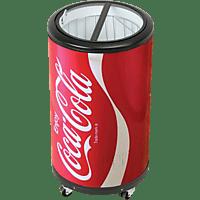 SALCO SPC-55CC Party Cooler Coca-Cola Kühlschrank (83 kWh/Jahr, A++, 770 mm hoch, Rot)