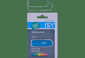 ISY IMU-2200-neon USB-Stick, 32 GB, 12 MB/s, Sortierter Artikel (Neon-Blau, Neon-Grün, Neon-Gelb, Neon-Orange, Neon-Pink), Farbe ist nicht frei wählbar