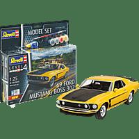 REVELL Model Set 1969 Boss 302 Mustang  Kunststoffmodellbausatz, Mehrfarbig