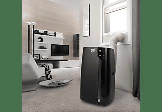 DE LONGHI Mobiles Luft-Klimagerät PACEX130ECOREALFEEL, Schwarz
