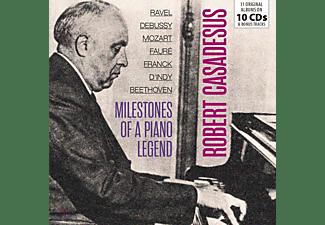 Robert Casadesus - Milestones Of A Piano Legend  - (CD)