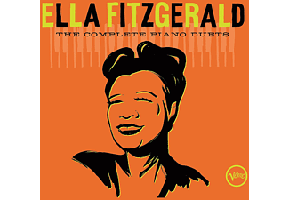 Ella Fitzgerald - THE COMPLETE PIANO DUETS - (CD)