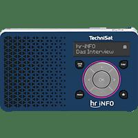 TECHNISAT DIGITRADIO 1 HR1 EDITION Radio, FM, DAB+, Weiß/Gelb