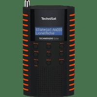 TECHNISAT TECHNIRADIO SOLAR Radio, DAB+, FM, BluetoothNein, Schwarz/Orange