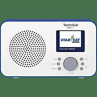 TECHNISAT Viola 2 C Radio, DAB+, FM, Weiß/Blau