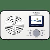 TECHNISAT Viola 2 C Radio, DAB+, FM, BluetoothNein, Weiß/Schwarz