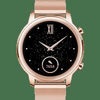 HONOR Magic Watch 2 Smartwatch Edelstahl Fluoroelastomer, 130-200 mm, Sakura Gold