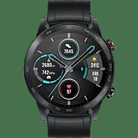 HONOR Magic Watch 2 Smartwatch Edelstahl Fluoroelastomer, 140-210 mm, Schwarz