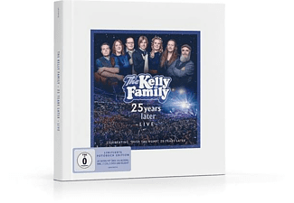The Kelly Family - 25 Years Later-Live (Limitierte Fotobuch Ed.)  - (CD + DVD Video)