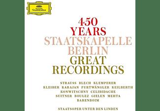 Staatskapelle Berlin - 450 Jahre-Staatskapelle Berlin  - (CD)