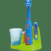 BESTRON Bobby Bär elektrische Zahnbürste Blau