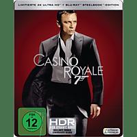 James Bond 007 - Casino Royale Limitiertes 4K Steelbook  [4K Ultra HD Blu-ray + Blu-ray]
