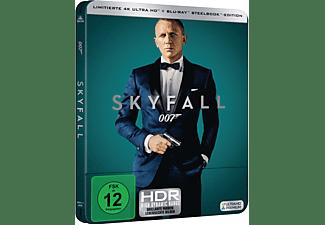 James Bond 007 - Skyfall Limitiertes 4K Steelbook  4K Ultra HD Blu-ray + Blu-ray