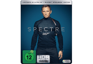 James Bond - Spectre Limitiertes 4K Steelbook - (4K Ultra HD Blu-ray + Blu-ray)