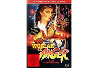 Woman In Anger-Lady Street Fighter DVD